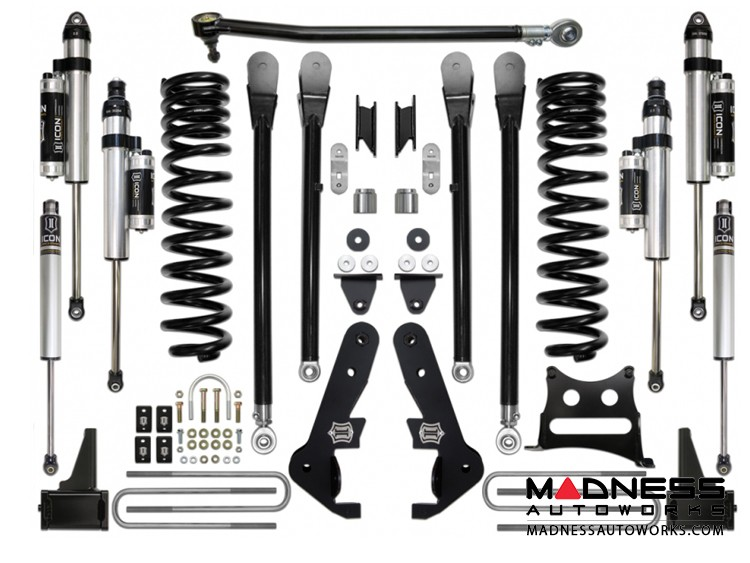 """Ford F-350 4WD Suspension System - Stage 5 - 4.5"""""""