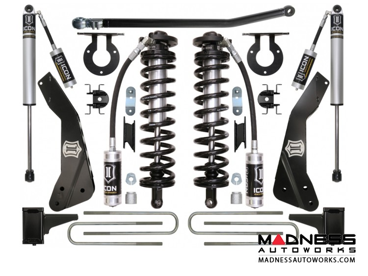 """Ford F-350 4WD Coil-over Conversion System - Stage 1 - 4-5.5"""""""