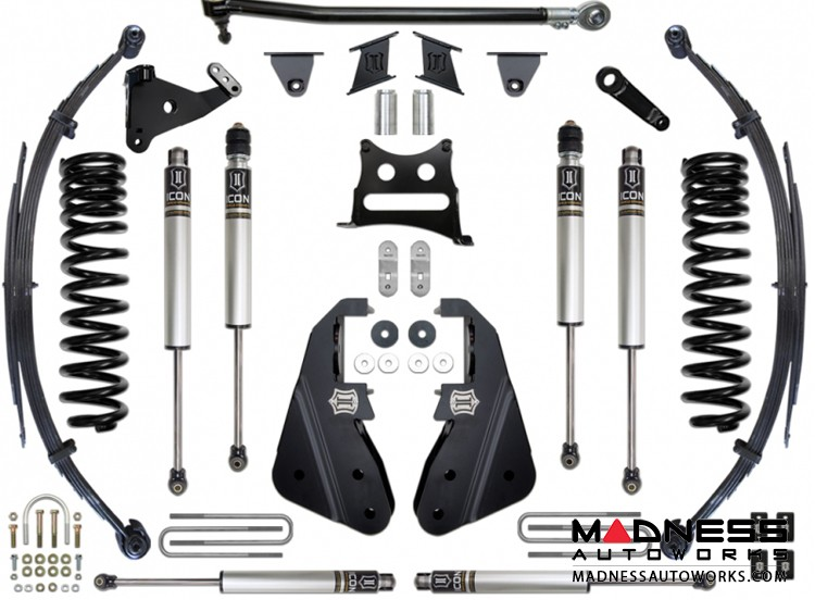 """Ford F-350 4WD Suspension System - Stage 1 - 7"""""""