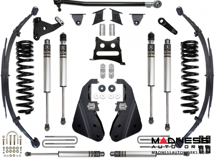 Ford F-350 4WD Suspension System - Stage 3 - 7""