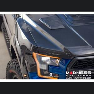 Ford Raptor Hood Vents - Carbon Fiber - (2017-2018)