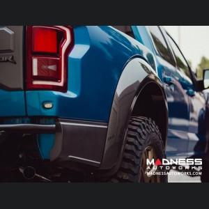 Ford Raptor Rear Fender Flares - Type Wide - Carbon Fiber - Pair