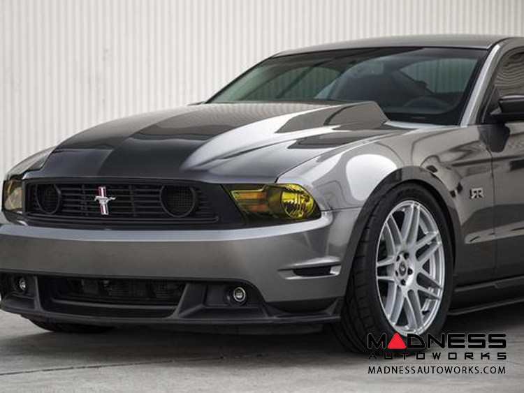 Ford Ford Mustang Cowl Hood Carbon Fiber Type Cj 2010 2012