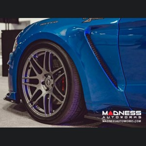 Ford Mustang Fiberglass Fenders - Front - Type ST - (2018-2019) - Pair