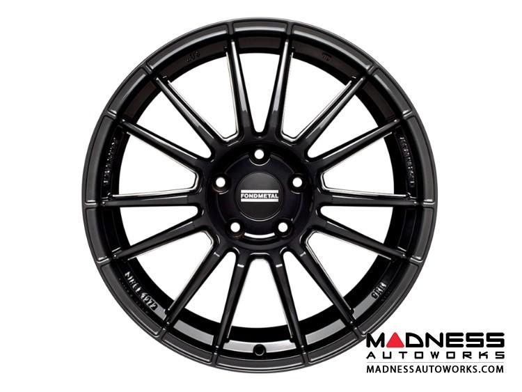Ford Fusion Custom Wheels by Fondmetal - 9RR - Black Milled