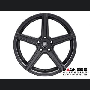 Ford Fusion Custom Wheels by Fondmetal - KV-1 - Matte Black