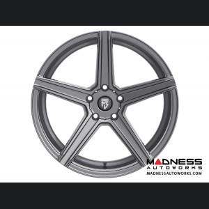 Ford Fusion Custom Wheels by Fondmetal - KV-1 - Matte Titanium