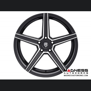 Ford Fusion Custom Wheels by Fondmetal - KV-1 - Matte Black Machined