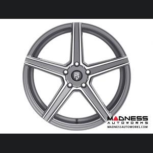 Ford Fusion Custom Wheels by Fondmetal - KV-1 - Matte Titanium Machined