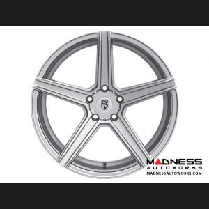 Ford Fusion Custom Wheels by Fondmetal - KV-1 - Silver