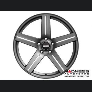 Ford Fusion Custom Wheels by Fondmetal - STC-01 - Gloss Titanium Milled
