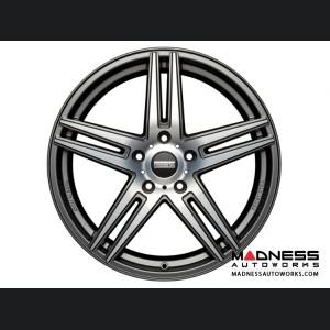 Ford Fusion Custom Wheels by Fondmetal - STC-05 - Matte Titanium Machined