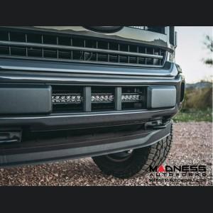 "Ford F-150 LED Light Bar Bumper Mount - Front - Black Powdercoat - 20"""