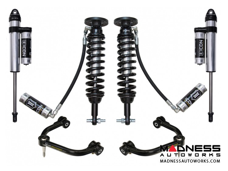 """Ford F-150 2WD Suspension System - Stage 4 - 1.75-3"""" Lift"""