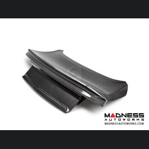 Ford Mustang Decklid w/ Integrated Spoiler  by Anderson Composites - Carbon Fiber