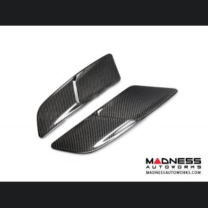 Ford Mustang GT Hood Vents by Anderson Composites - Carbon Fiber - Type OE