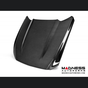 Ford Mustang Hood by Anderson Composites - Carbon Fiber - Type OE