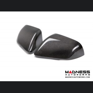 Ford Mustang Mirror Covers by Anderson Composites - Carbon Fiber