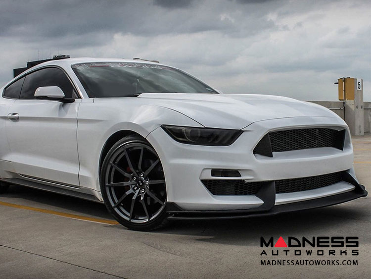 Ford Mustang Bumper w/ Lip GT350 Style by Anderson Composites - Fiberglass