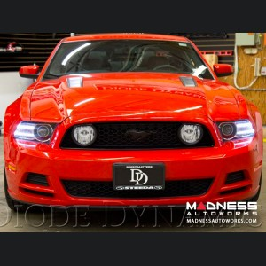 Ford Mustang Multicolor DRL LED Boards - Multicolor and White