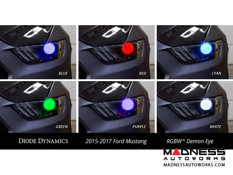 Ford Mustang Multicolor Demon Eye Kit