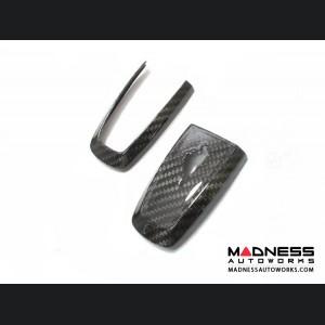 Ford Mustang Carbon Fiber Key Cover - Carbon Fiber (2018-2019)