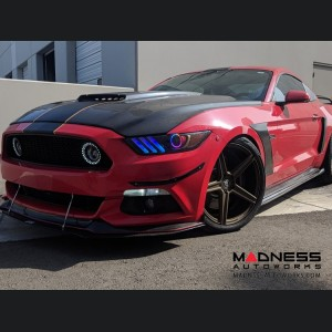 Ford Mustang V6/ GT/ Shelby Oracle Dynamic Colorshift DRL w/ Halo Kit - (2015-2017)