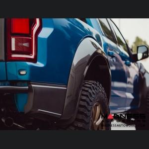 Ford Raptor Rear Fender Flares - Type-Wide - Carbon Fiber - Pair