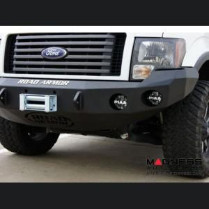 Ford F-150 Stealth Front Winch Bumper - Smittybilt XRC - Texture Black WARN M12000