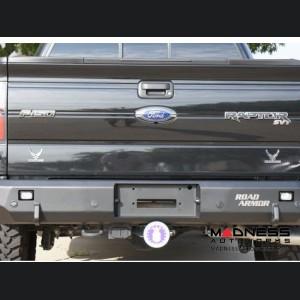 Ford F-150 Stealth Rear Winch Bumper - Raw Steel WARN M8000 Or 9.5xp