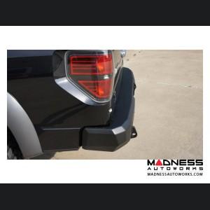Ford F-150 Stealth Rear Winch Bumper - Texture Black WARN M8000 Or 9.5xp
