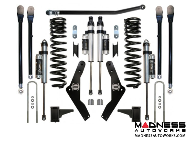 """Ford F-250 Super Duty Suspension System - Stage 4 - 4.5"""""""