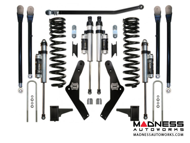 Ford F-250 Super Duty Suspension System - Stage 4 - 4.5""