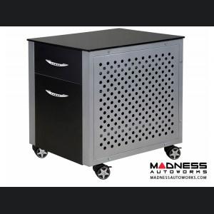 Race Car Style File Cabinet - Black