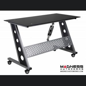 Race Car Style Desk - Monza - Black