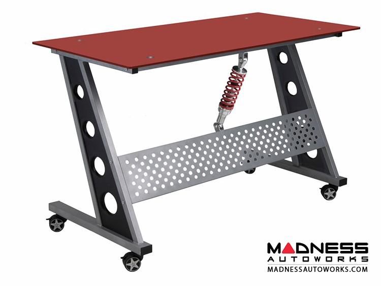 Race Car Style Desk - Monza - Red