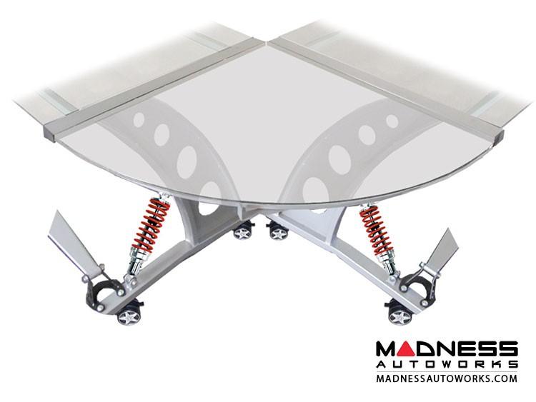 Race Car Style Desk Connector - Targa - Clear