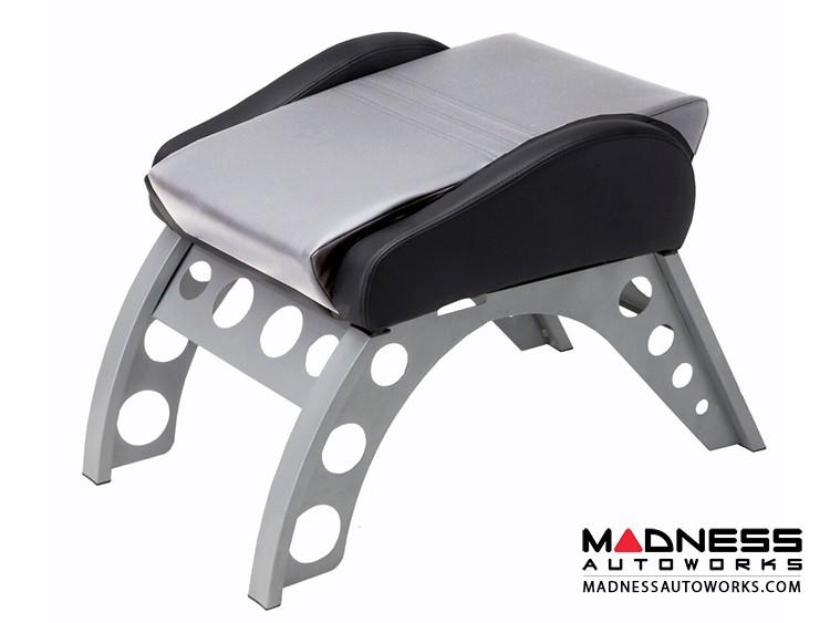 Race Car Style Footrest - Monza - Silver