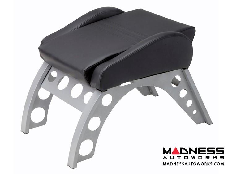 Race Car Style Footrest - Monza - Black