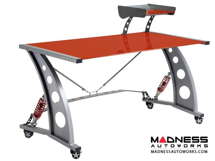 Race Car Style Desk - Targa - Red