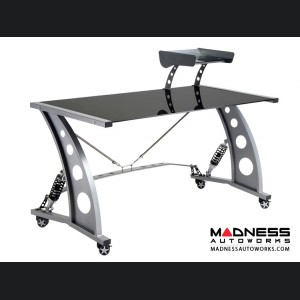 Race Car Style Desk - Targa - Black