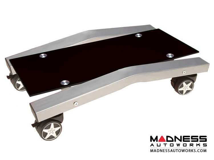 Race Car Style Computer Stand - Black