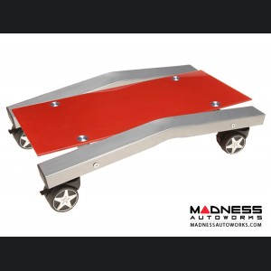 Race Car Style Computer Stand - Red