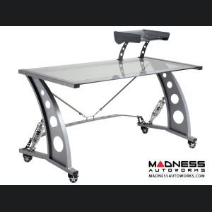 Race Car Style Desk - Targa - Clear