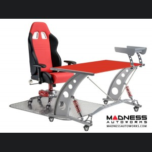 Race Car Style Office Chair - Monza - Red