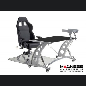 Race Car Style Office Chair - Monza - Black