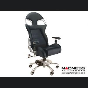 Race Car Style Office Chair - Targa - Black