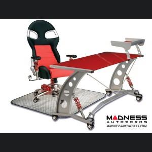 Race Car Style Office Chair - Targa - Red