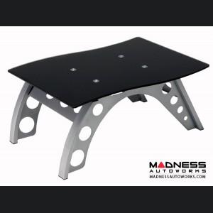 Race Car Style Side Table - Black