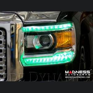 GMC Sierra Multicolor DRL LED Boards - Multicolor and White